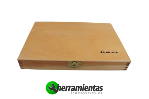 Juego 6 formones de madera Bellota 8911